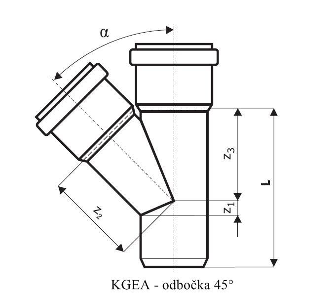 KGEA Kanalizační odbočka – KADOS s.r.o.